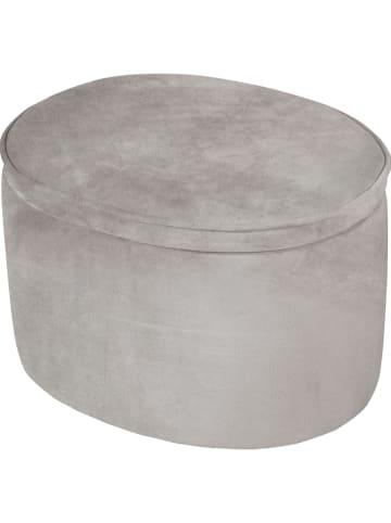"""Roba Kinderkruk """"Ovaal"""" grijs - (B)42 x (H)27 x (D)33 cm"""