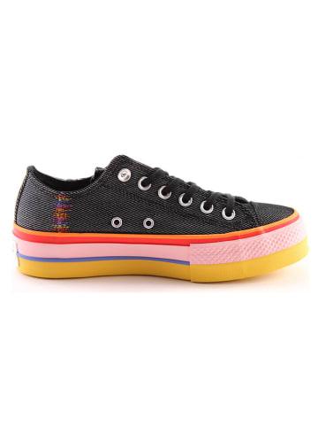 """Converse Sneakers """"Chuck Taylor All Star Lift"""" zwart"""