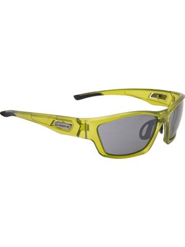 """SWISSEYE Sportbril """"Trail"""" geel/grijs"""