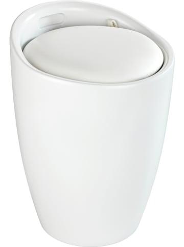 """Wenko Badhocker """"Candy"""" in Weiß - (H)50,5 cm"""