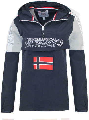 """Geographical Norway Tussenjas """"Astina"""" donkerblauw"""