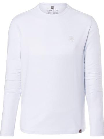 Timezone Koszulka w kolorze białym