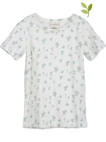 Serendipity Shirt crème/donkergroen