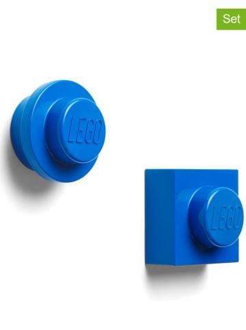 """LEGO Magnesy (2 szt.) """"Iconic"""" w kolorze niebieskim"""