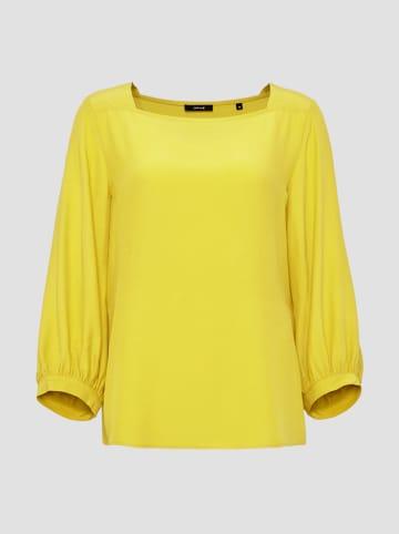 """OPUS Bluzka """"Farrie"""" w kolorze żółtym"""