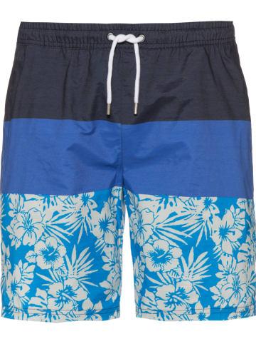 Maui Wowie Badeshorts in Dunkelblau/ Blau/ Hellblau