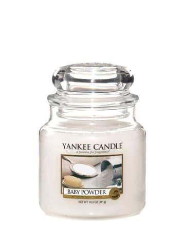 Yankee Candle Średnia świeca zapachowa - Baby Powder