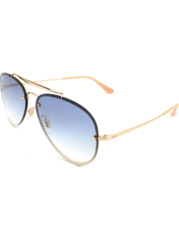Ray Ban Unisex-Sonnenbrille in Gold