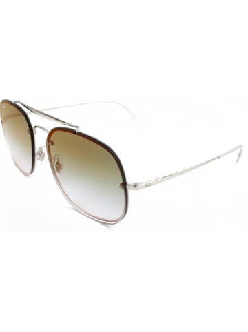 Ray Ban Unisex-Sonnenbrille in Silber