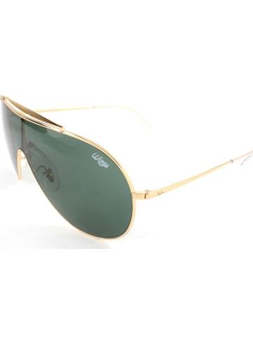 Ray Ban Dameszonnebril goudkleurig/groen