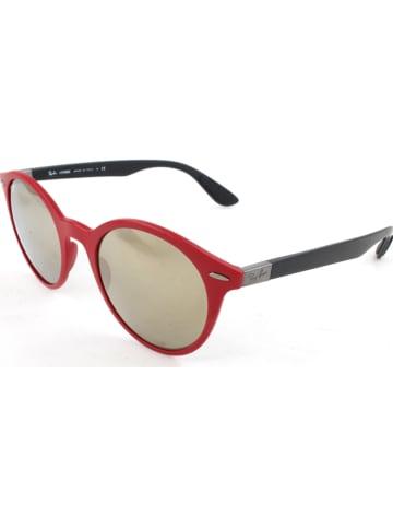 Ray Ban Okulary przeciwsłoneczne unisex w kolorze czerwono-czarnym