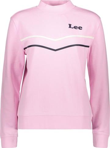 Lee Jeans Bluza w kolorze jasnoróżowym