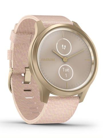 "Garmin Hybrid-Smartwatch ""vivomove Style"" in Rosa/ Gold"