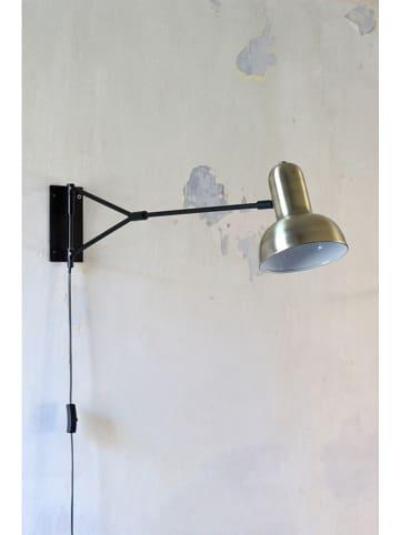 """RedCartel Lampa ścienna """"Waldorf"""" w kolorze czarno-złotym - 15,5 x 18 cm"""