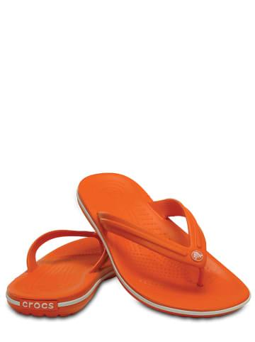 """Crocs Teenslippers """"Flip"""" oranje"""
