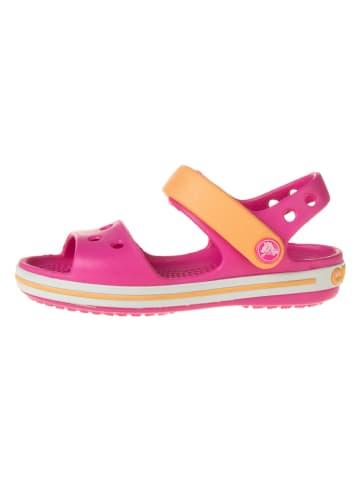 "Crocs Sandalen ""Crocband"" roze/oranje"