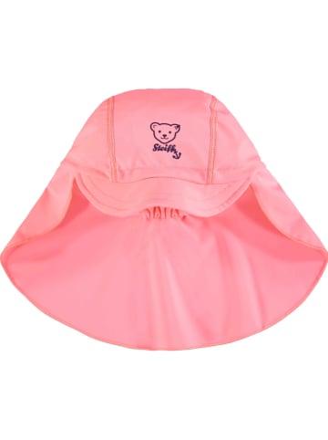 Steiff Nackenschutzmütze in Rosa