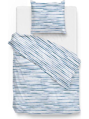 """Zo!Home Komplet pościeli """"Rama"""" w kolorze niebiesko-białym"""