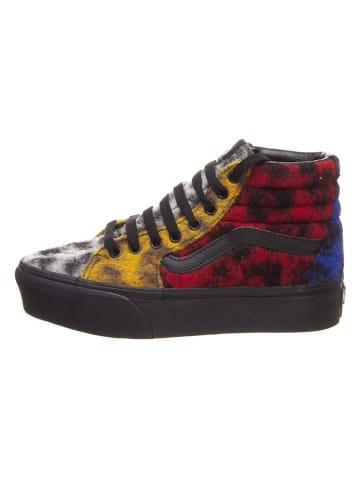 "Vans Sneakersy ""SK8-Hi Platform 2.0"" ze wzorem"
