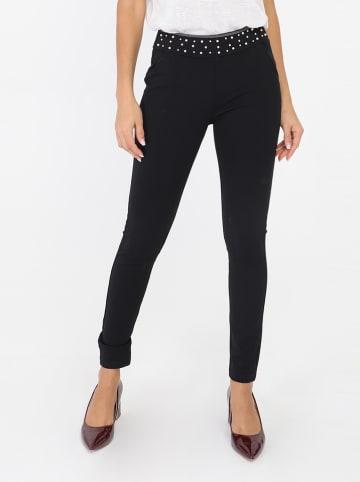 Ella Paris Spodnie w kolorze czarnym