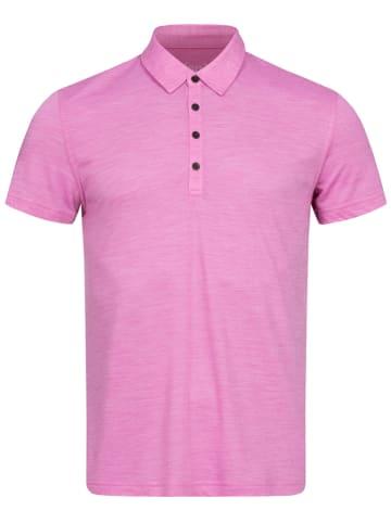 Super.natural Koszulka polo w kolorze różowym