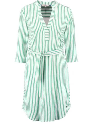 Garcia Kleid in Weiß/ Grün