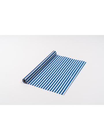 NUTS Rolka ściereczek w kolorze biało-niebieskim z wosku pszczelego - 90 x 30,5 cm