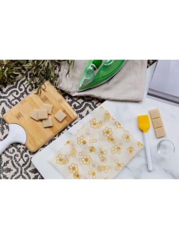 """NUTS Mieszanka wosku roślinnego """"Vegan Wrap DIY"""" w kolorze brązowym - 60 g"""