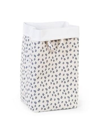Childhome Pudełko w kolorze kremowym ze wzorem - (S)32 x (W)60 x (G)32 cm