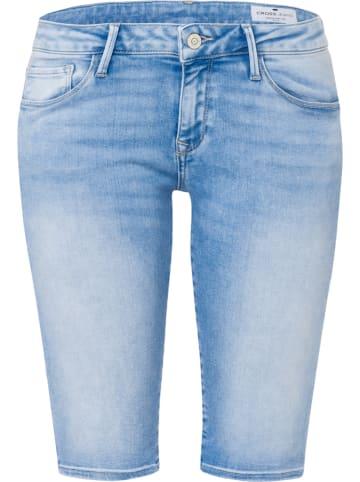 """Cross Jeans Spijkershort """"Amy"""" - Skinny fit - lichtblauw"""