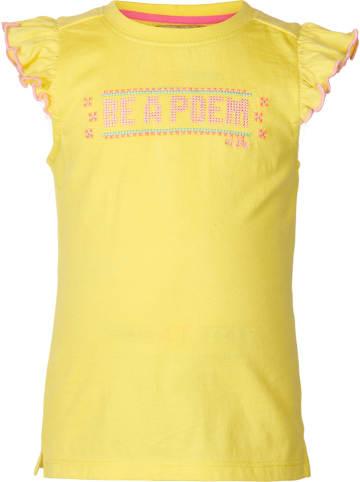 """LE BIG Koszulka """"Saskia"""" w kolorze żółtym"""