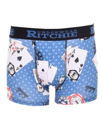 RITCHIE Boxershort lichtblauw