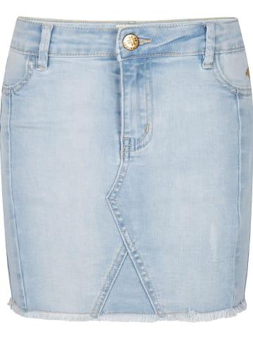 INDIAN BLUE JEANS Dżinsowa spódnica w kolorze błękitnym