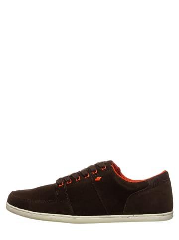 "Boxfresh Leder-Sneakers ""Spencer"" in Braun/ Orange"