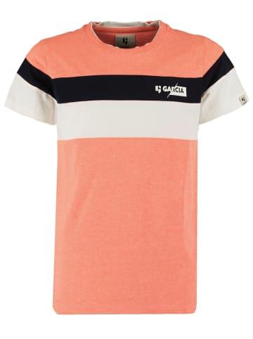 Garcia Koszulka w kolorze brzoskwiniowym