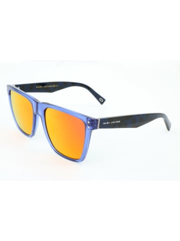 Marc Jacobs Męskie okulary przeciwsłoneczne w kolorze pomarańczowo-niebieskim