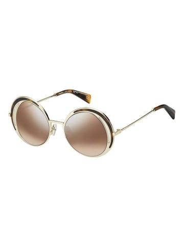 Marc Jacobs Damskie okulary przeciwsłoneczne w kolorze złoto-brązowo-jasnoróżowym