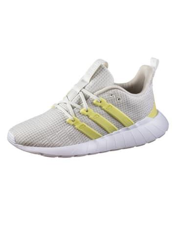 "Adidas Sneakers ""Questar Flow"" in Creme/ Gelb"