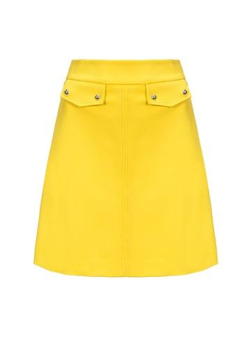 Pinko Spódnica w kolorze żółtym
