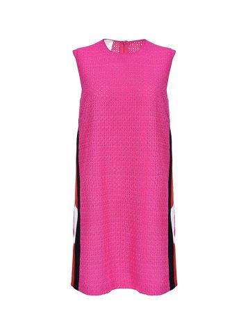 Pinko Sukienka w kolorze różowo-czerwonym