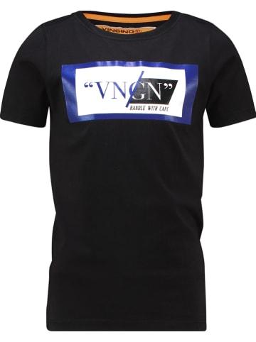 """Vingino Shirt """"Herlo"""" zwart"""