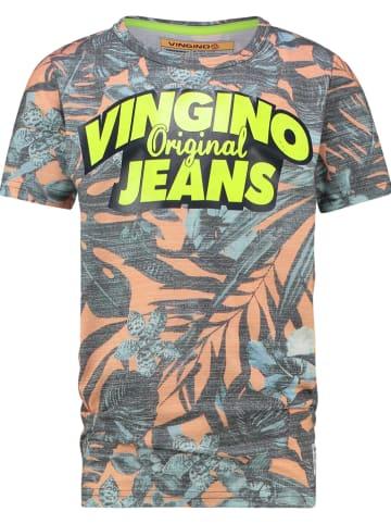 """Vingino Shirt """"Haldor"""" grijs/oranje"""