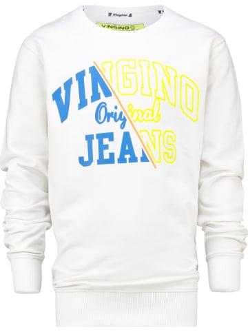 """Vingino Sweatshirt """"Neone"""" wit"""