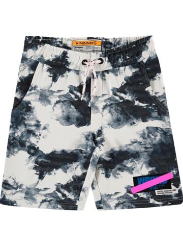 "Vingino Shorts ""Rafiu"" in Weiß/ Blau"