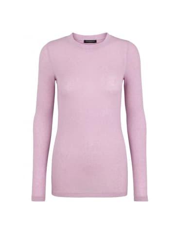 Bruuns Bazaar Sweter w kolorze lawendowym