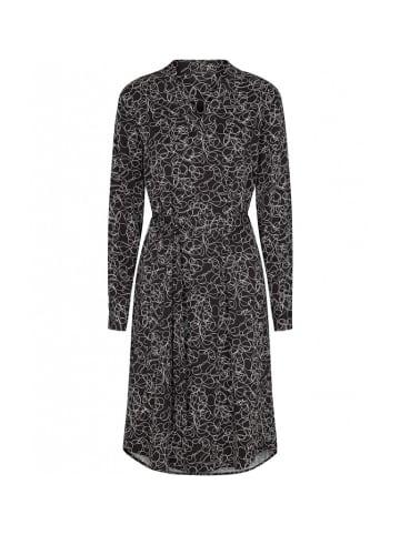 Bruuns Bazaar Sukienka w kolorze czarnym ze wzorem