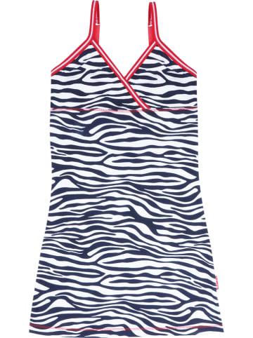 Claesens Nachthemd zwart/wit/rood