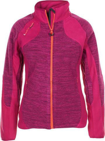 Peak Mountain Fleece vest roze