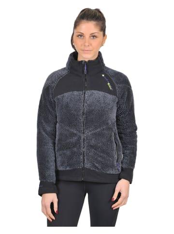 Peak Mountain Fleece vest zwart