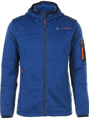 Peak Mountain Fleece vest blauw
